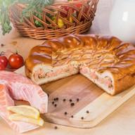 Пирог с семгой (заказ за 2 дня) Фото
