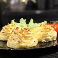 Картофельное пюре с сыром 150 гр. Фото