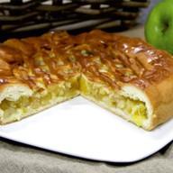 Пирог с яблоком и апельсином Фото