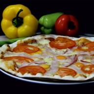 Карбонара пицца (итальянская) Фото