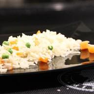 Рис с овощами 150 гр. Фото