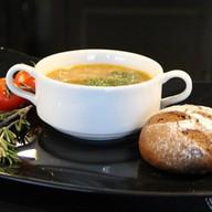 Куриный с лапшой суп Фото