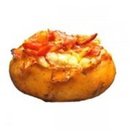 Картофель с луком фри XL Фото