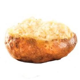 Картофель с растительным маслом XL - Фото
