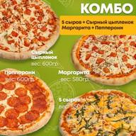Комбо Четыре пиццы Фото