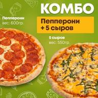Комбо Пепперони+Пять сыров Фото