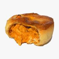 Пирог цыплёнок в сырном соусе Фото