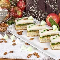 Пирожное Яблочно-миндальное Фото