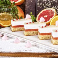 Торт Пастель-грейпфрут Фото