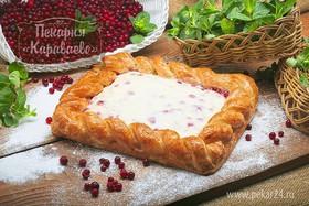 Пирог слоеный Брусничное безумие - Фото