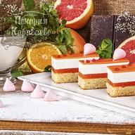 Торт Пастель-апельсин Фото