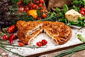 Пирог с томатами и сыром - Фото