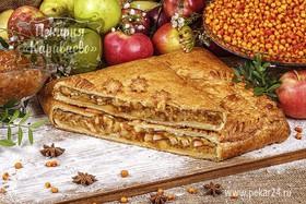 Пирог слоеный Сибирский с облепихой - Фото