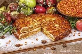 Пирог сдобный Сибирский с облепихой - Фото