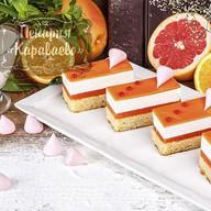 Пирожное Пастель-апельсин Фото
