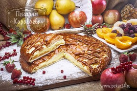 Пирог с грушей - Фото