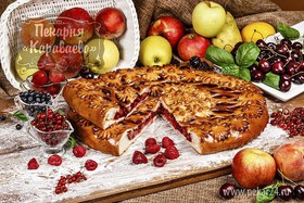 Пирог Ягодный микс - Фото