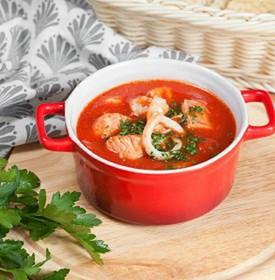 Суп с морепродуктами - Фото