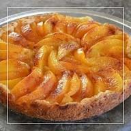 Персиковый пирог Фото