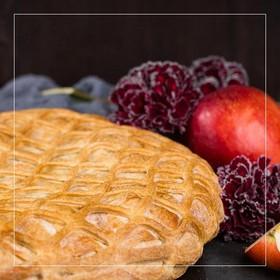 Пирог с яблоком и смородиной - Фото