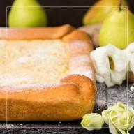 Пирог грушевый Фото