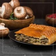 Пирог картофельный с грибами Фото