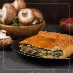 Пирог картофельный с грибами - Фото