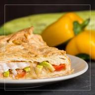 Пирог с судаком,цукини,болгарским перцем Фото