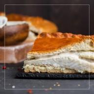 Пирог с судаком в сливочном соусе Фото