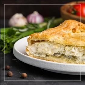 Пирог с пангасиусом - Фото