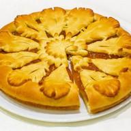 Пирог с джемом сдобный Фото