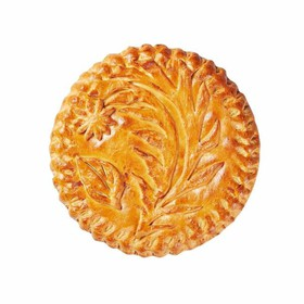 Пирог с кетой - Фото