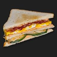 Американский клаб сэндвич Фото