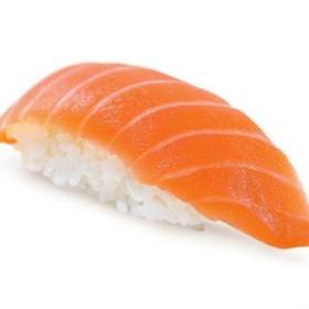 Суши с семгой холодного копчения - Фото