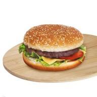 Гамбургер премиум Фото