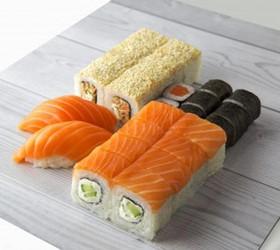 Набор с лососем - Фото