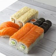 Набор с лососем Фото