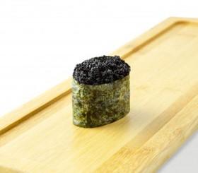 Гункан тобико черная - Фото