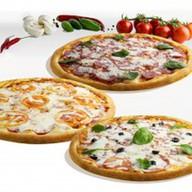 Комбо из больших пицц Фото