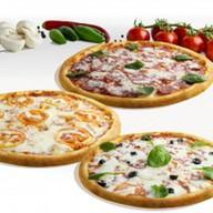 Комбо из маленьких пицц Фото