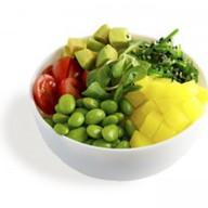 Поке с овощами Фото