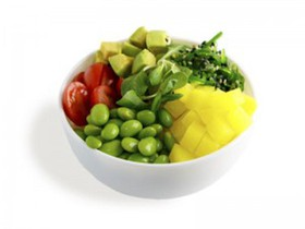 Поке с овощами - Фото