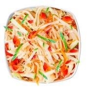 Вегетарианский wok Фото