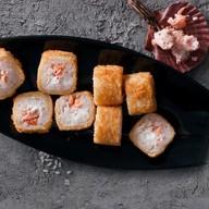 Харумаки с жареным лососем Фото