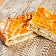 Пирог с муксуном Фото
