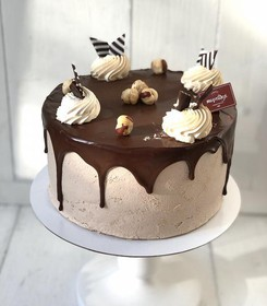 Торт Шоколад-банан - Фото