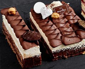 Мини-торт Брауни - Фото