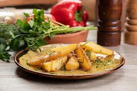Картофель, жаренный с луком - Фото