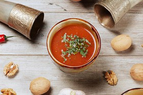 Зажигающий суп-харчо - Фото