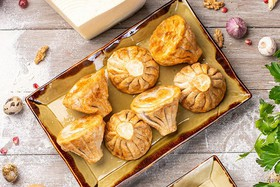 Хинкали с телятиной и кинзой (жареные) - Фото